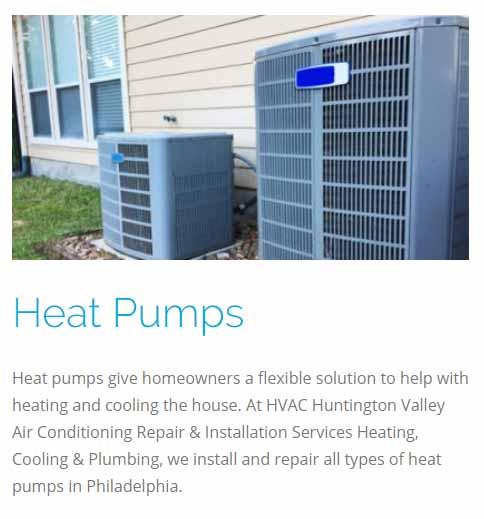 Heat Pumps Services