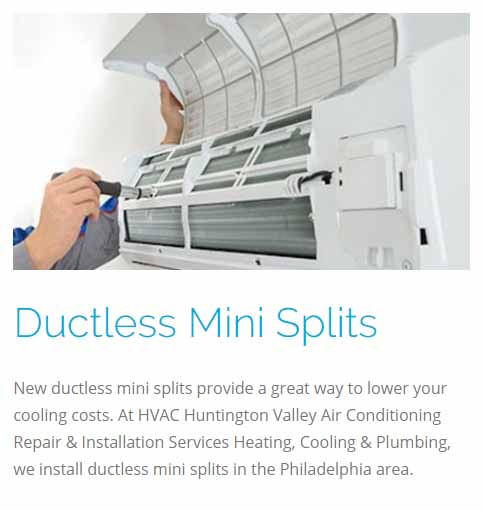 Ductless Mini Splits Installation Services